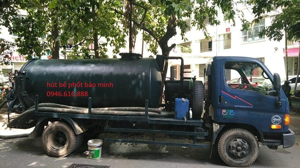 dịch vụ hút bể phốt tại thành phố thái nguyên uy tín