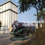 Hút bể phốt tại Định Hóa